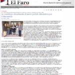 """El Faro del Guadarrama (27-Nov-2009):  """"Se constituye oficialmente el nuevo partido Alternativa por Colmenarejo"""""""